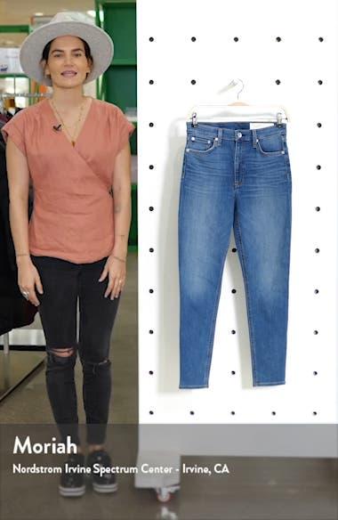 Dre Slim Fit Ankle Boyfriend Jeans, sales video thumbnail