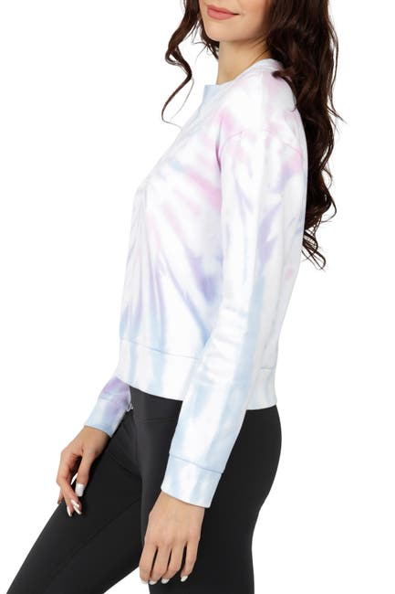 Image of 90 Degree By Reflex Brushed Long Sleeve Top