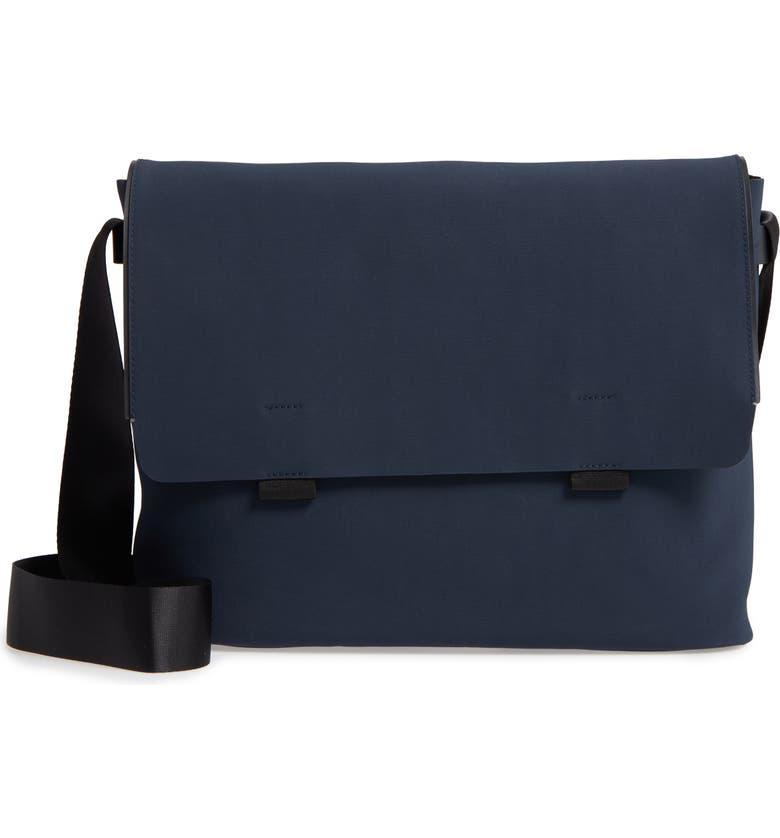 TROUBADOUR Canvas Messenger Bag, Main, color, 410