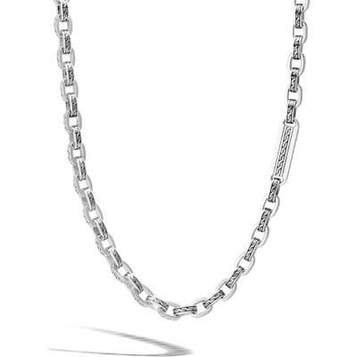 John Hardy Classic Chain Box Chain Necklace