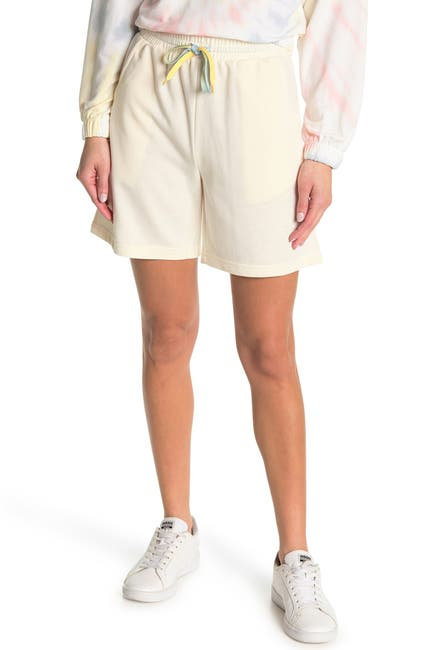 Image of Elodie Tie Dye Drawstring Bermuda Shorts