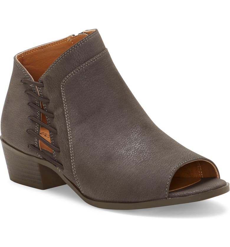 LUCKY BRAND Open Toe Bootie, Main, color, PERISCOPE