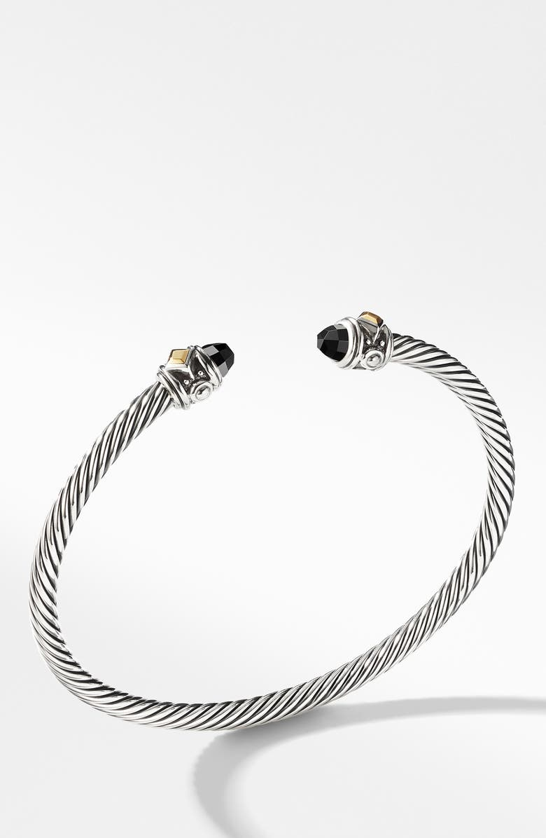 DAVID YURMAN Renaissance Bracelet with 18K Gold, Main, color, BLACK ONYX