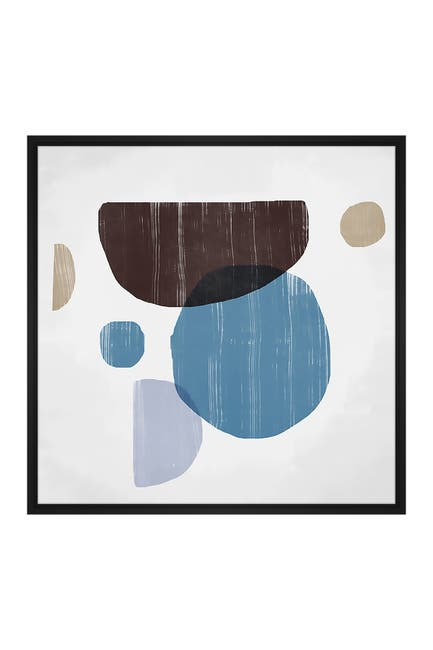 Image of PTM Images Bold Abstract Large XLII Floater Framed Canvas