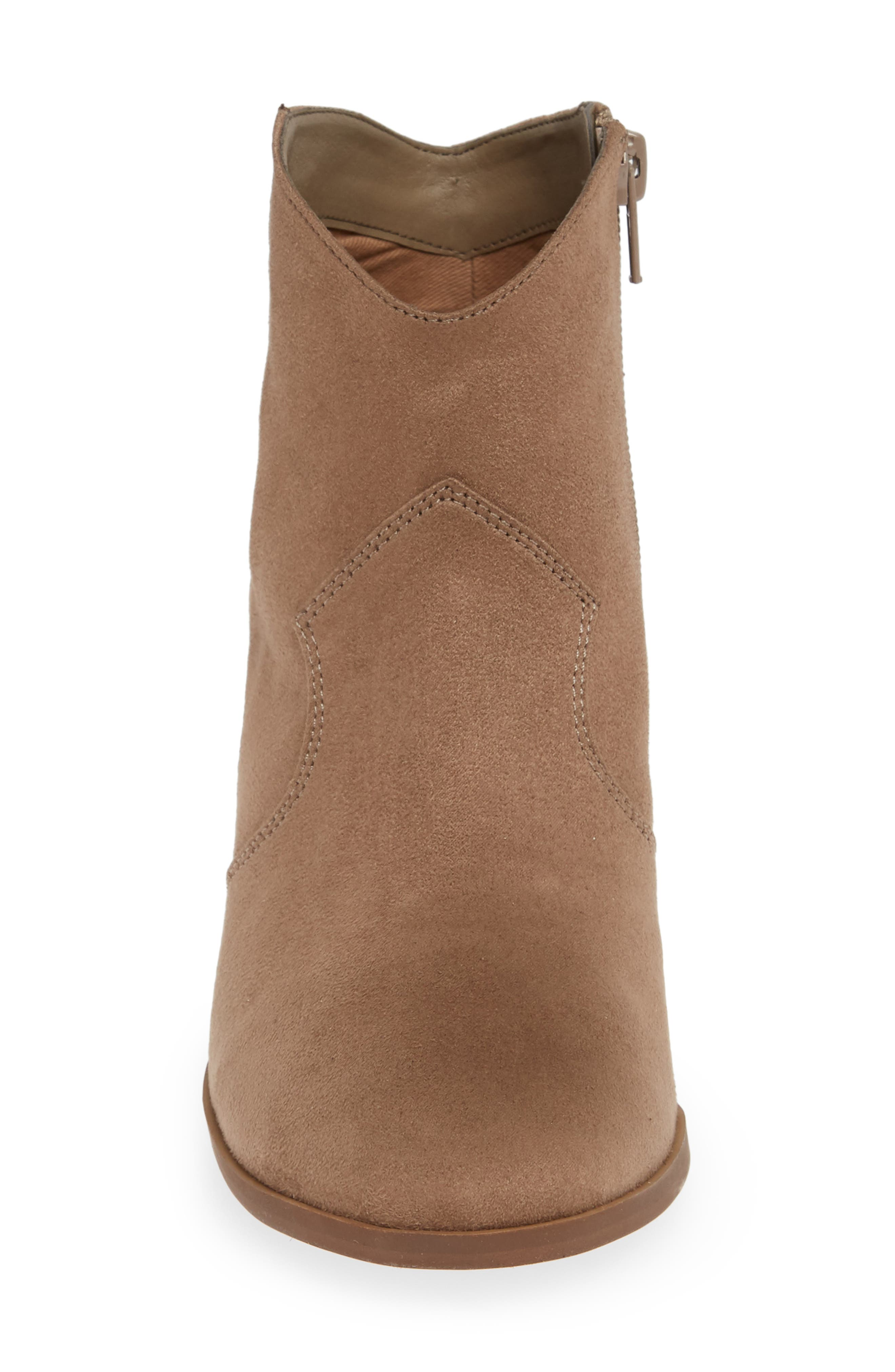 ,                             Nolly Bootie,                             Alternate thumbnail 4, color,                             TAUPE FAUX SUEDE