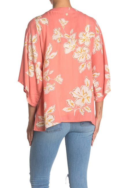 Image of Rip Curl Paradise Beach Floral Kimono