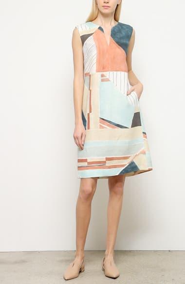 Taren Linen Shift Dress, video thumbnail