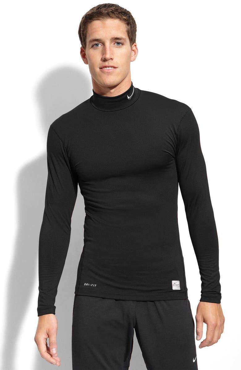 Amigo Ordinario Razón  Nike 'Pro Combat Hyperwarm' Dri-FIT Compression T-Shirt   Nordstrom