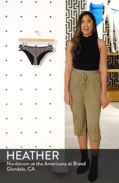 Rachel Horizon Stripe Bikini Bottoms, sales video thumbnail