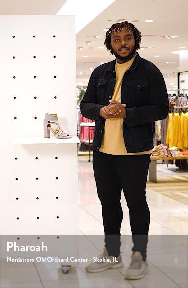 Strappy Block Heel Sandal, sales video thumbnail