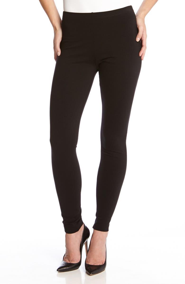 KAREN KANE Leggings, Main, color, BLACK