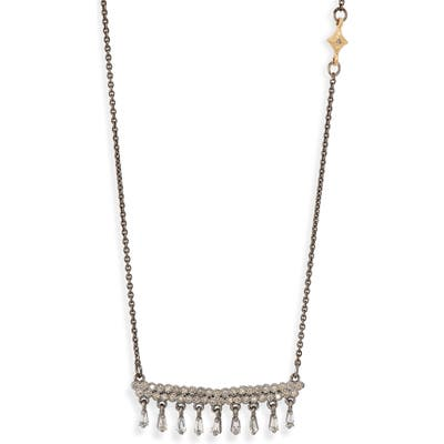 Armenta Old World Pave & Baguette Pendant Necklace