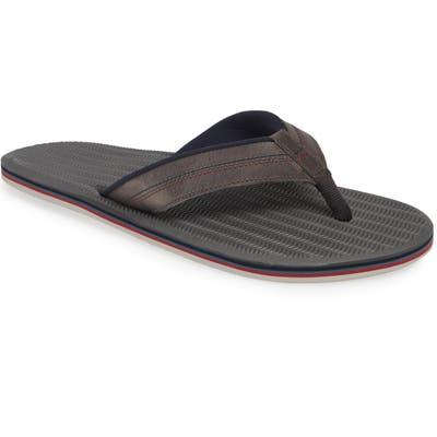 Hari Mari Brazos Lx Flip Flop, Grey