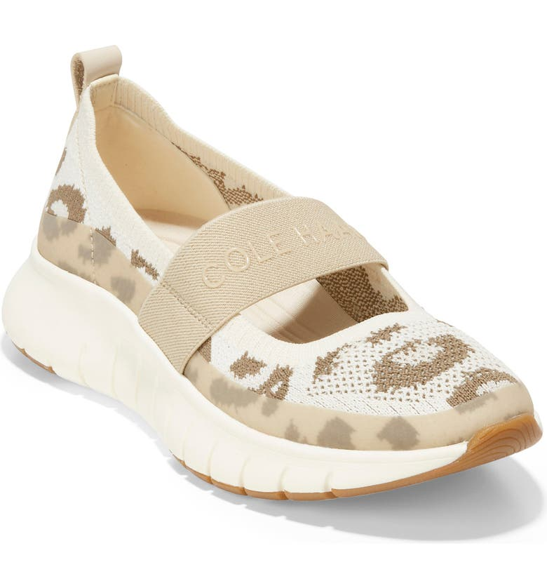 COLE HAAN ZeroGrand Flex Mary Jane Sneaker, Main, color, IVORY/ WHITECAP GREY