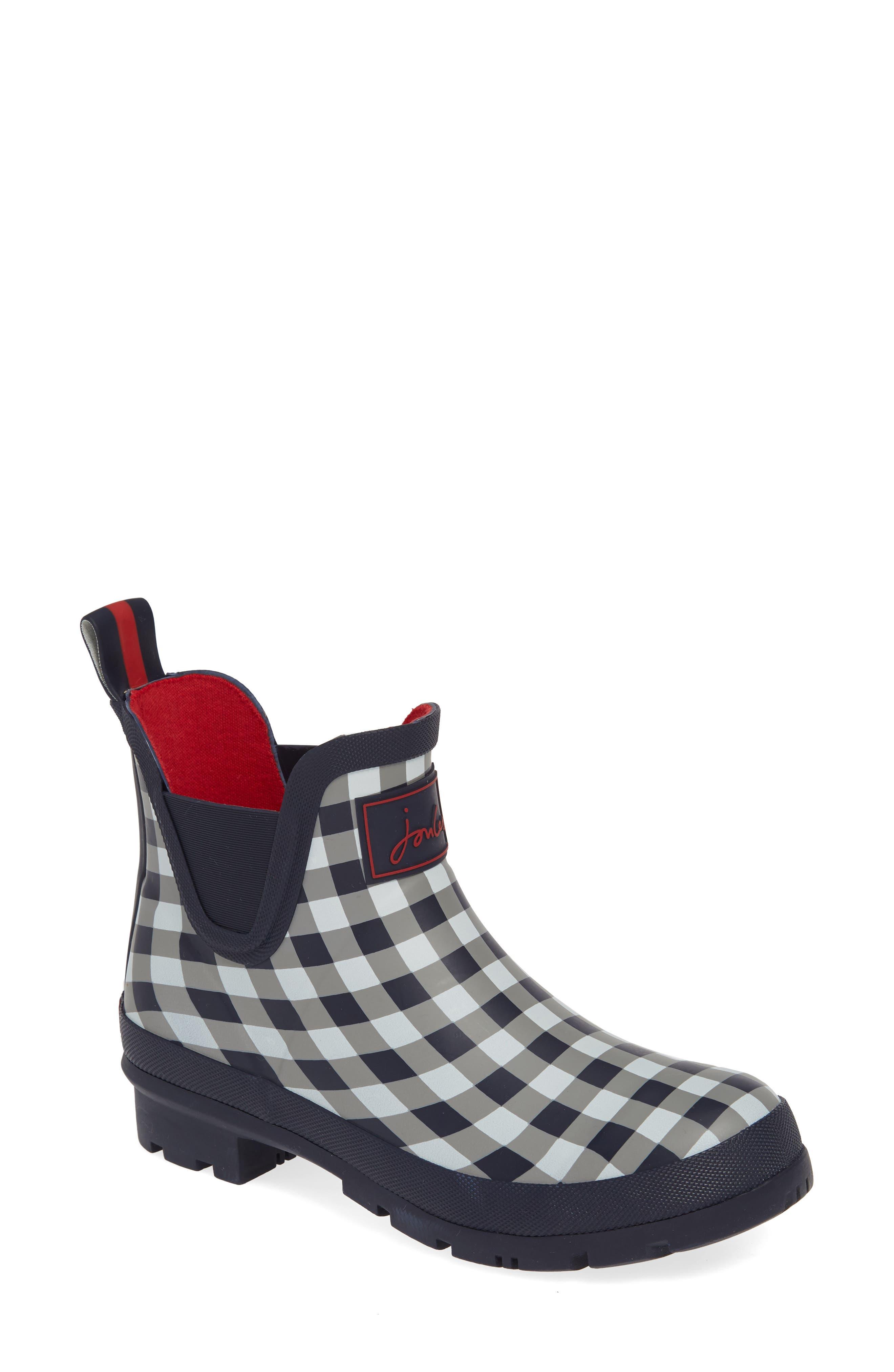 Joules Wellibob Short Rain Boot, Blue