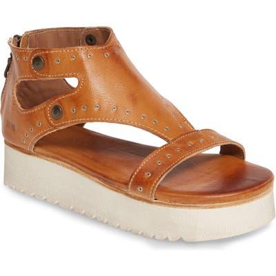 Bed Stu Soni Grommet Platform Sandal- Brown