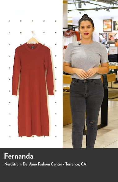 Long Sleeve Sweater Dress, sales video thumbnail