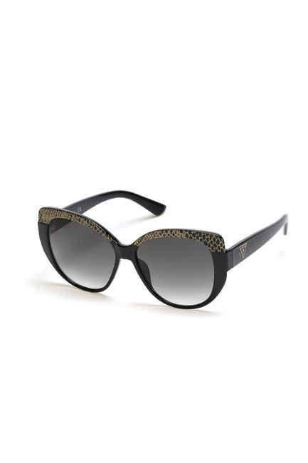 Image of GUESS 56mm Geometric Sunglasses