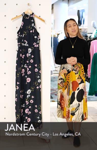 Darkness Floral Jumpsuit, sales video thumbnail