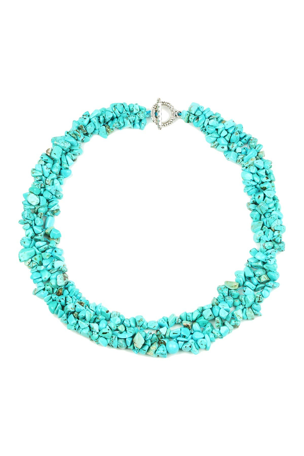Image of Eye Candy Los Angeles Turquoise Collar Necklace