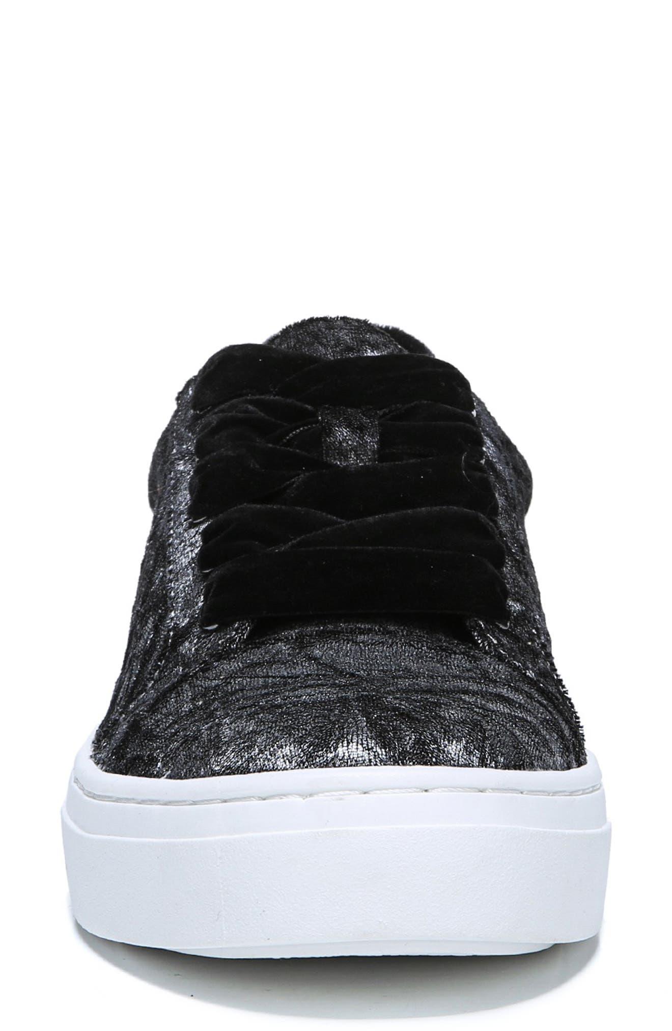 ,                             Cairo Sneaker,                             Alternate thumbnail 4, color,                             PEWTER VELVET