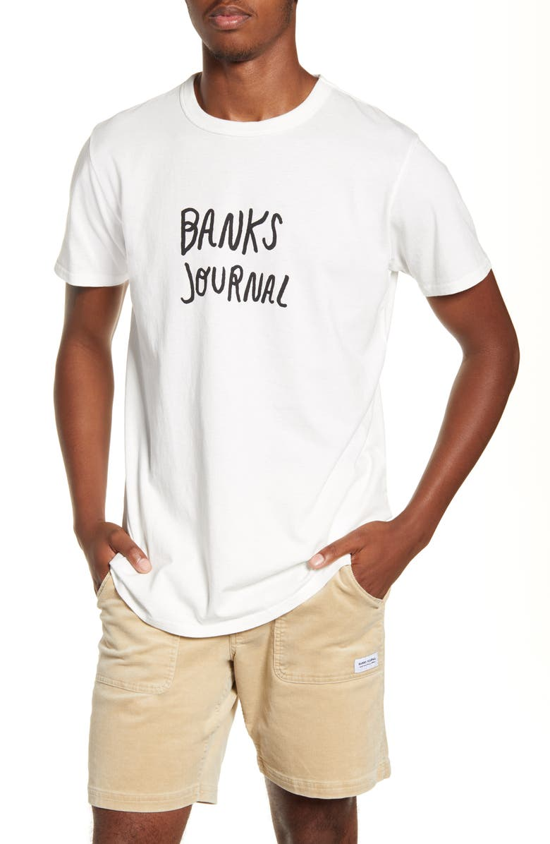 Banks Journal Trader Logo T Shirt