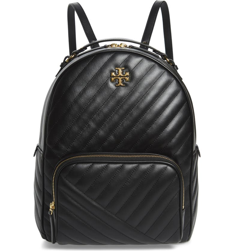 Kira Channel Quilted Lambskin Leather Backpack by Tory Burch