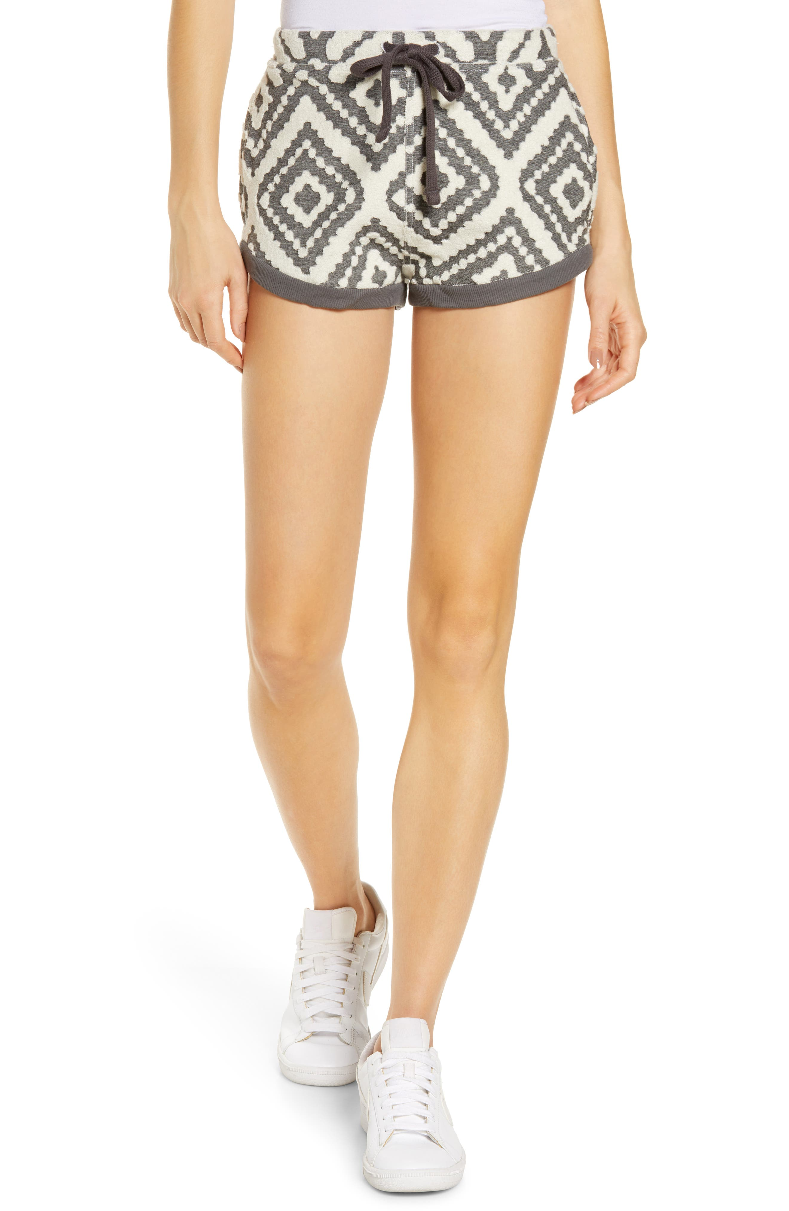 Where The Wind Blows Jacquard Shorts