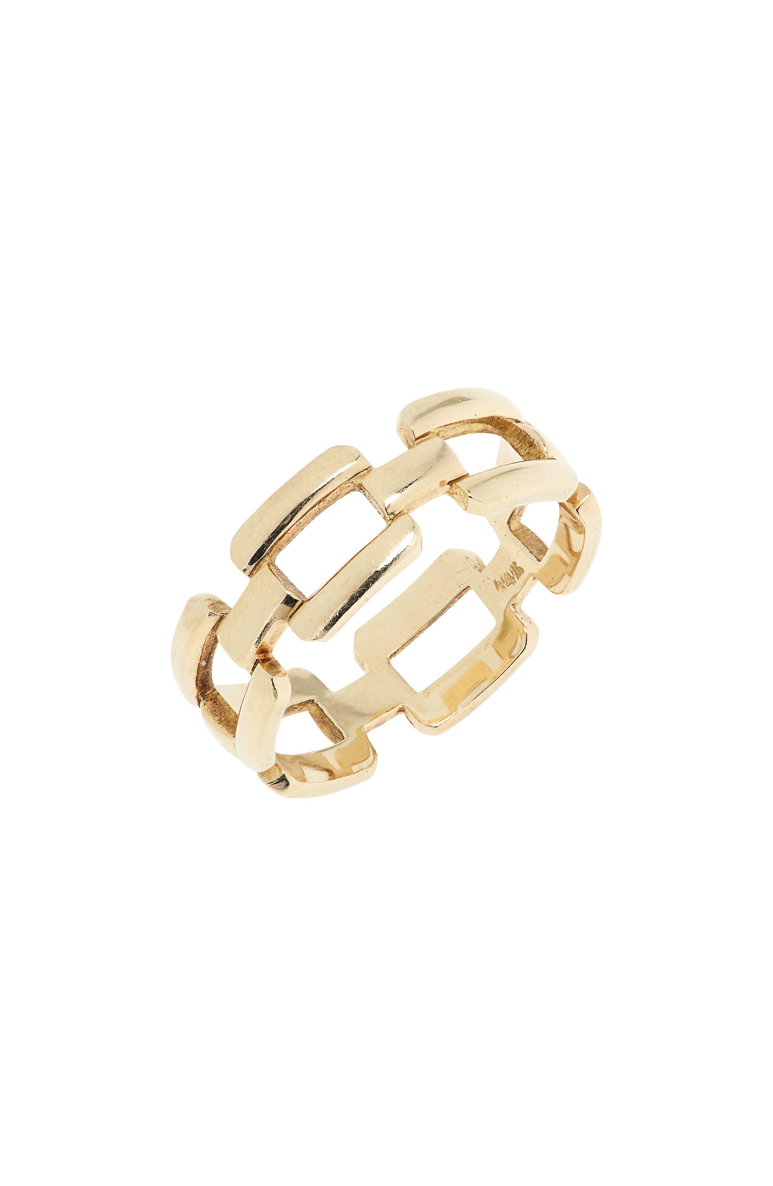 Originals Signature Link 14K Gold Ring