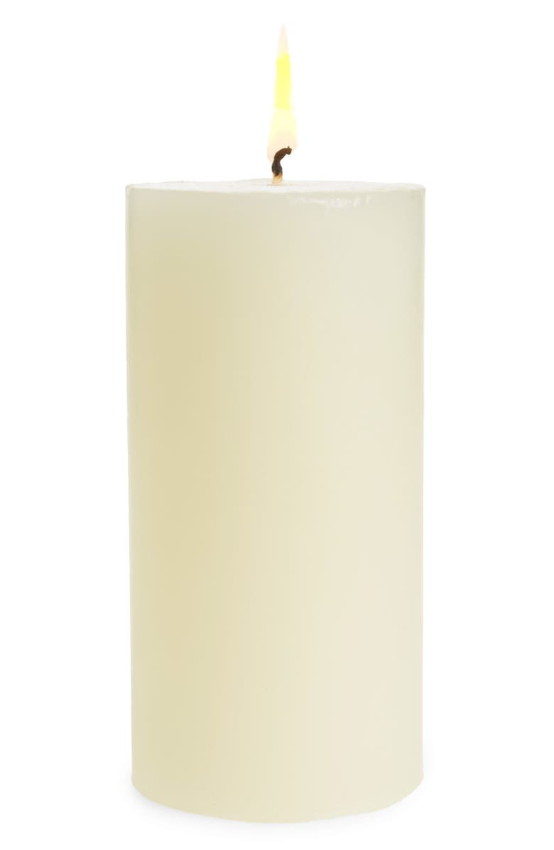 THE WHITE COMPANY Winter Botanical Pillar Candle, Main, color, WINTER