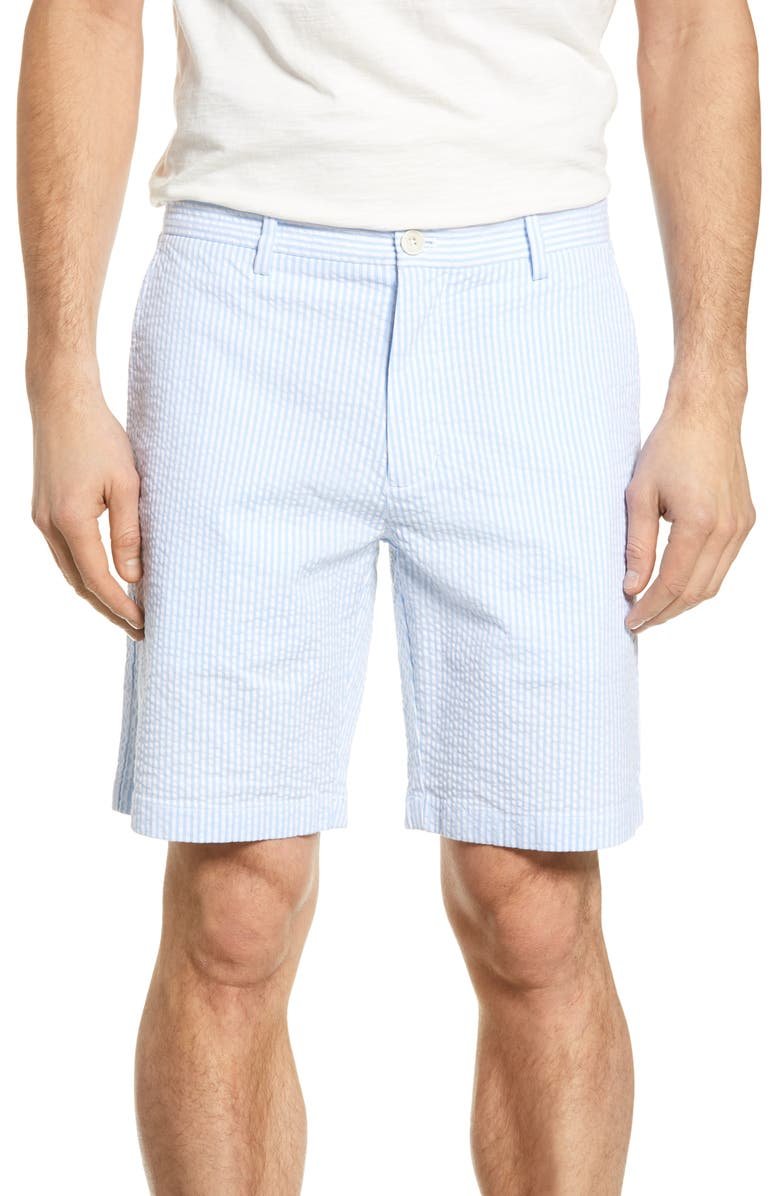 VINEYARD VINES Stretch Seersucker Shorts, Main, color, 484