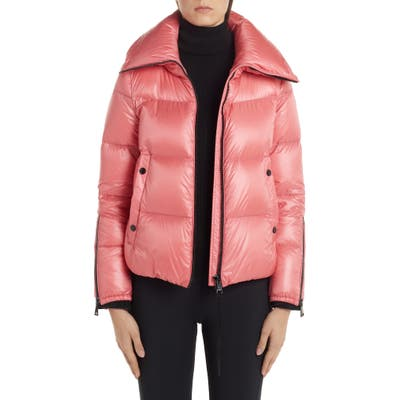 Moncler Bandama Down Puffer Jacket, (fits like 8-10 US) - Red