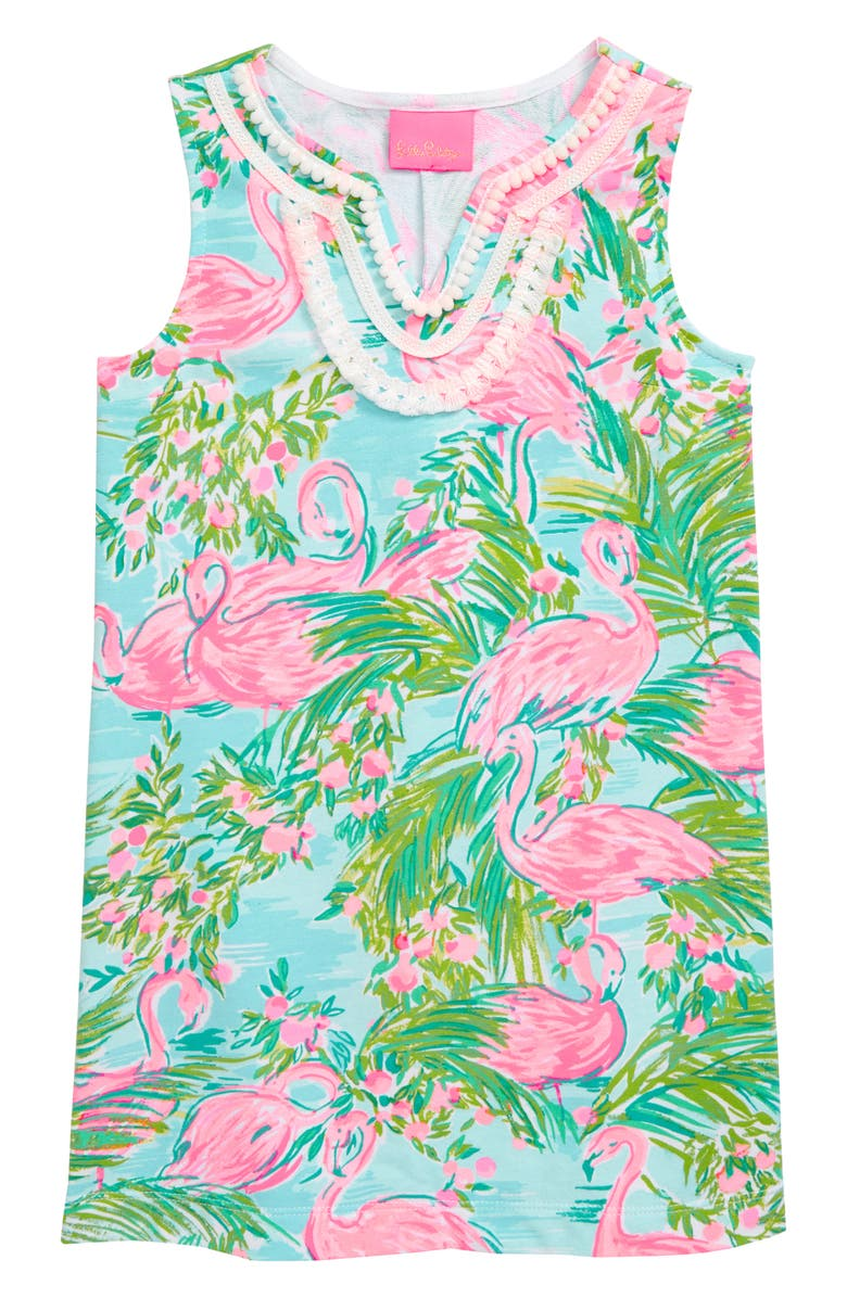 bf85c6dd4c1482 Lilly Pulitzer® Mini Harper Shift Dress (Toddler Girls, Little Girls ...