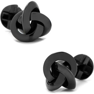 Cufflinks, Inc. Black Knot Cuff Links