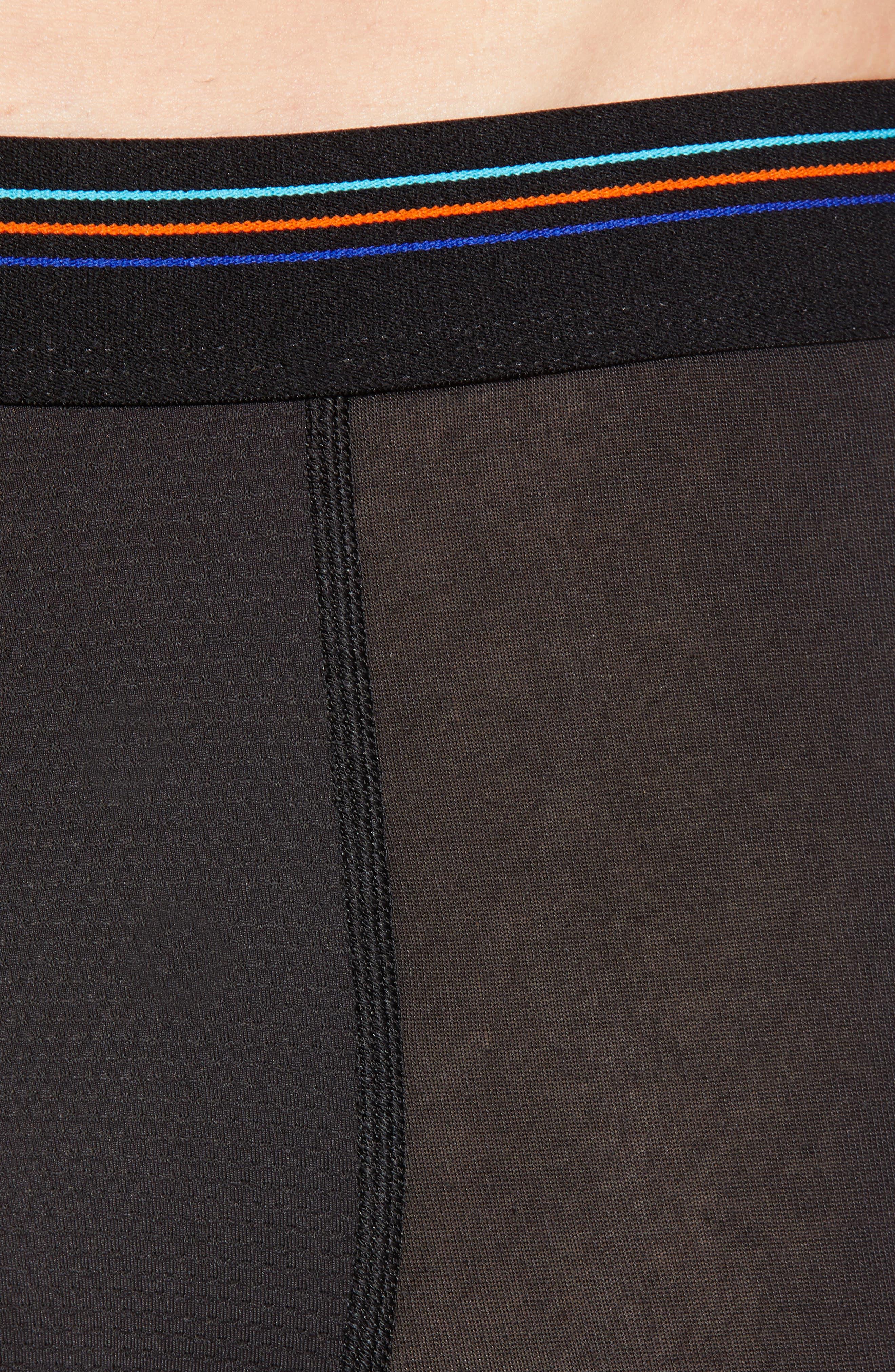 ,                             Essential A/C<sup>®</sup> Boxer Briefs,                             Alternate thumbnail 4, color,                             BLACK