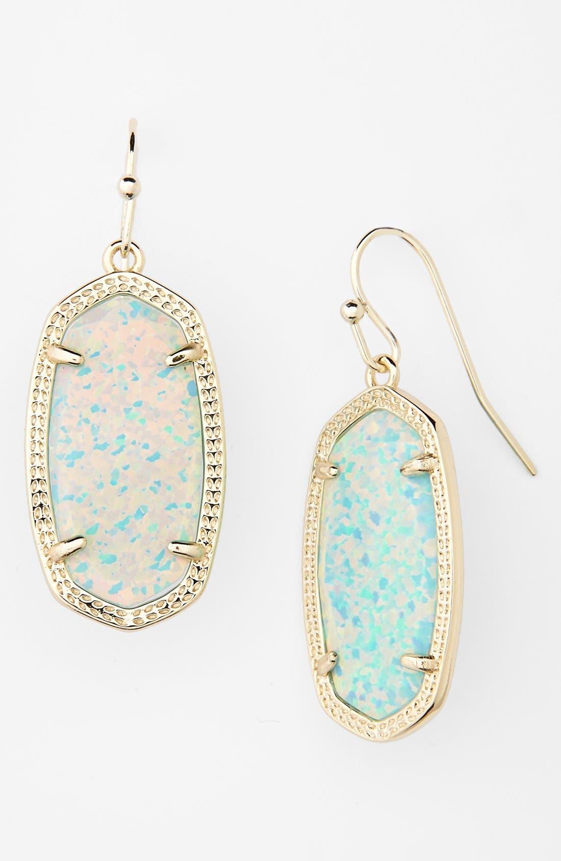 ,                             Dani Stone Drop Earrings,                             Main thumbnail 37, color,                             400