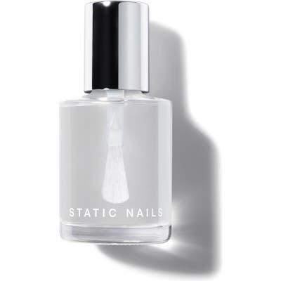Static Nails Liquid Glass Top Coat - No Color