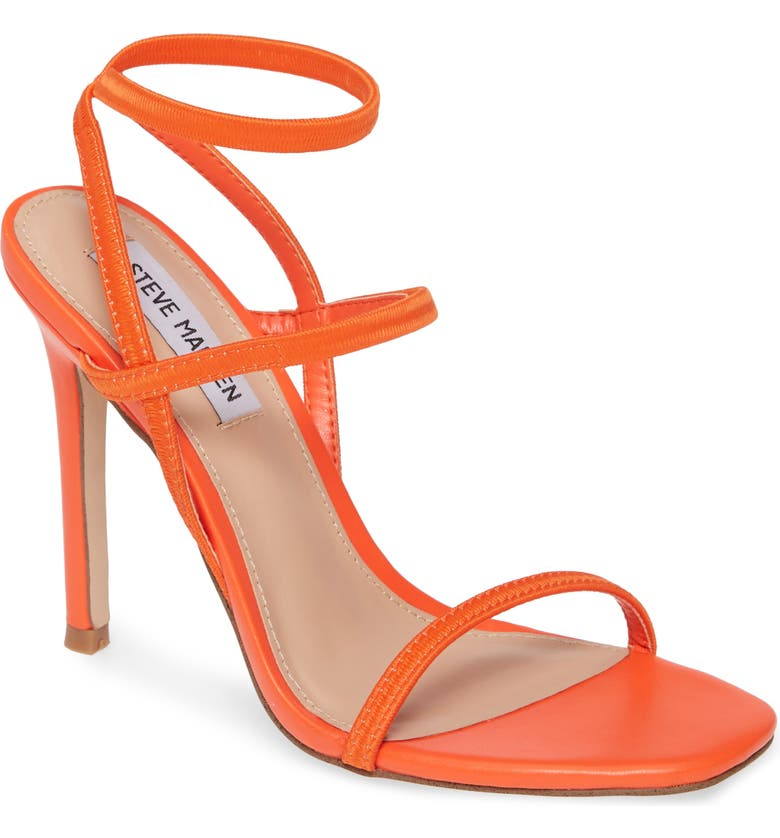 STEVE MADDEN Nectur Sandal, Main, color, RED/ ORANGE