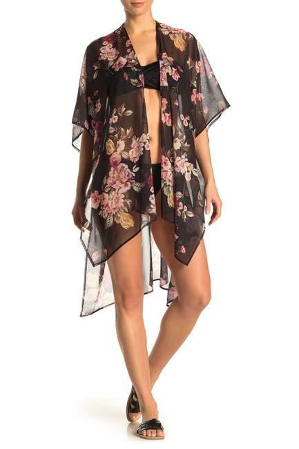 Image of Rachel Rachel Roy Cherry Blossom Cover-Up Kimono