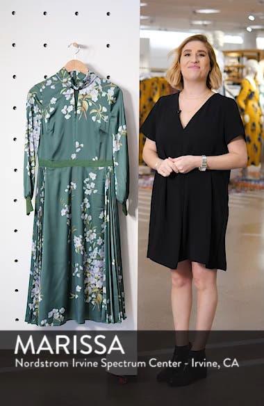 Jhenni Graceful Satin A-Line Dress, sales video thumbnail