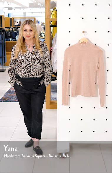 Johanna Mock Neck Sweater, sales video thumbnail