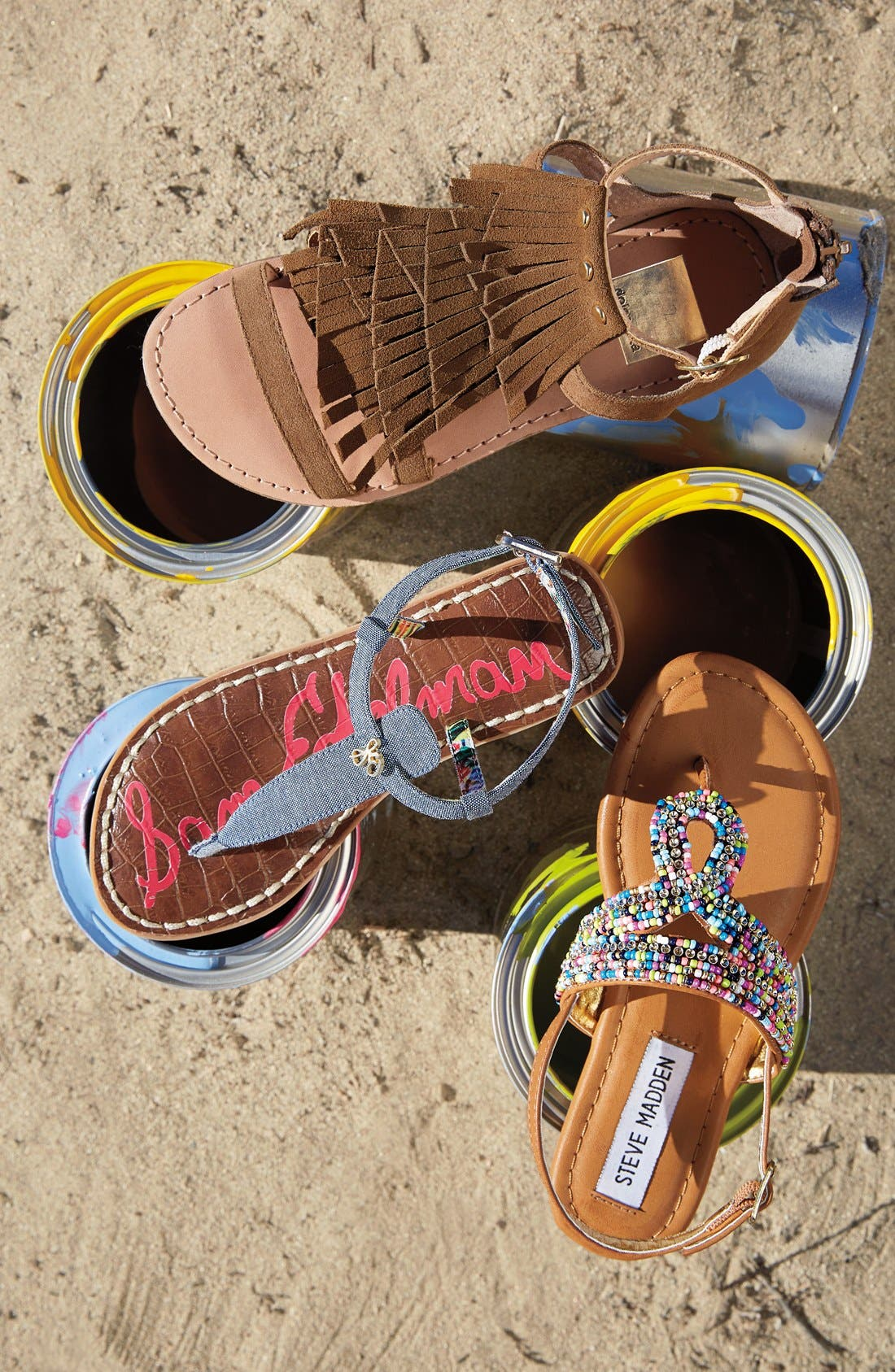 ,                             'Gigi' Sandal,                             Alternate thumbnail 11, color,                             LUGGAGE