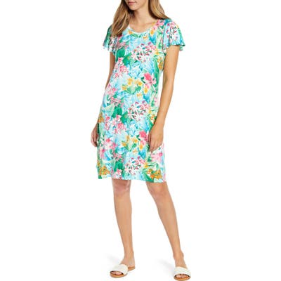 Tommy Bahama Valley Of The Flowers Dress, White