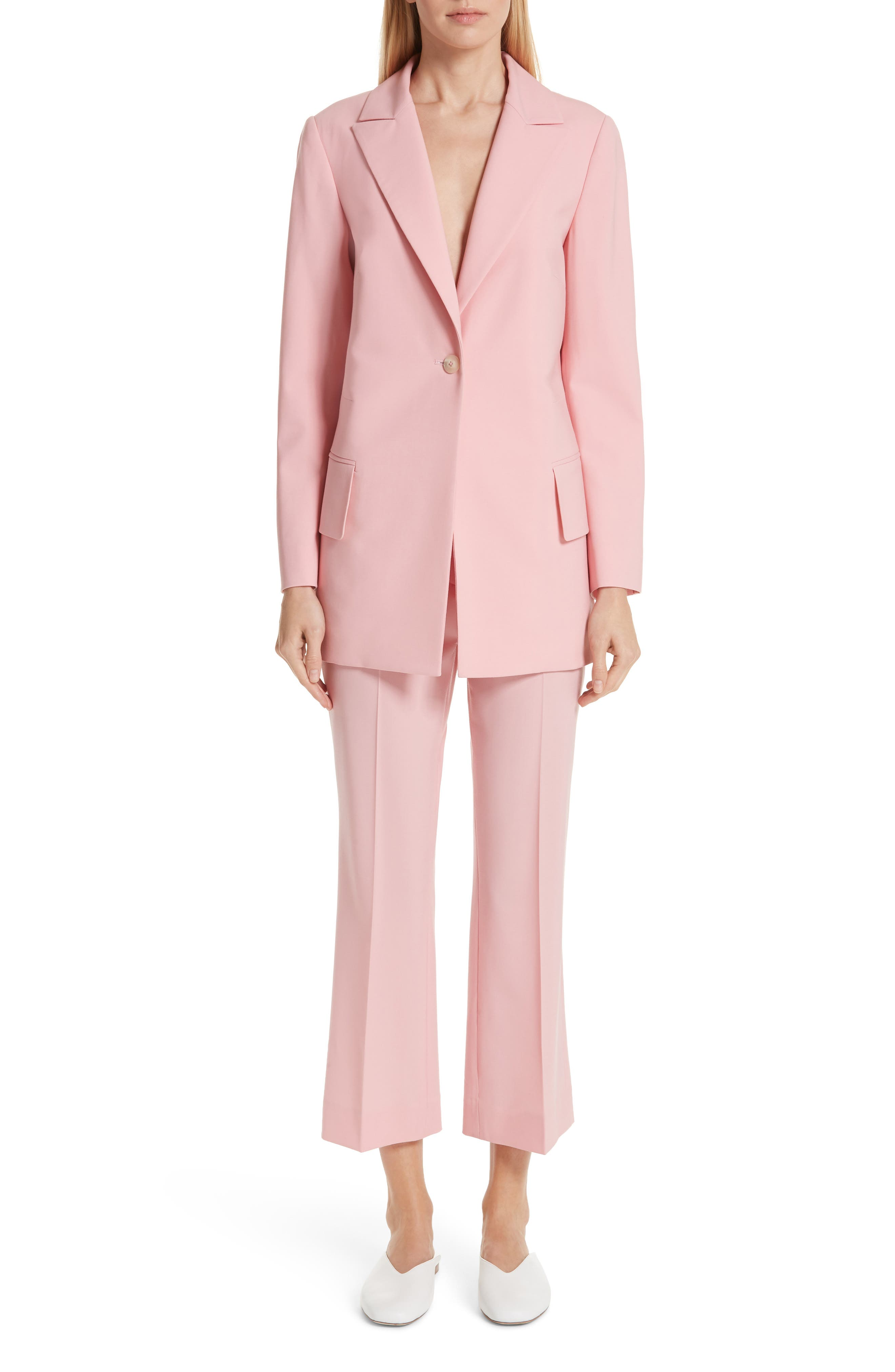 ,                             Brody Stretch Wool Jacket,                             Alternate thumbnail 7, color,                             ROSE