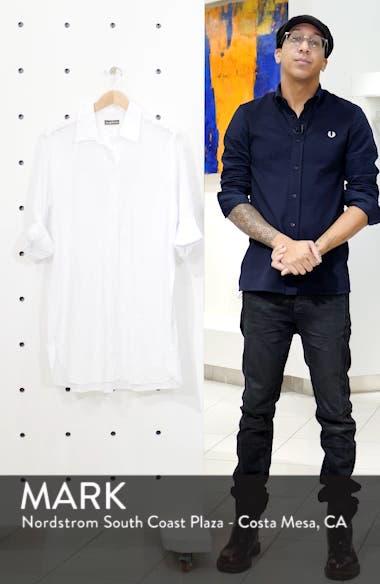 Boyfriend Shirt Cover-Up, sales video thumbnail