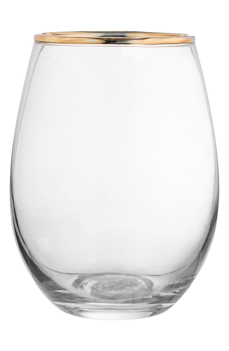 Louis Set of 4 Stemless Wine Glasses
