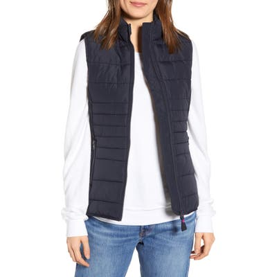 Joules Fallow Quilted Vest, 18 UK - Blue