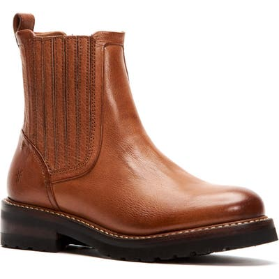Frye Ella Chelsea Boot- Brown