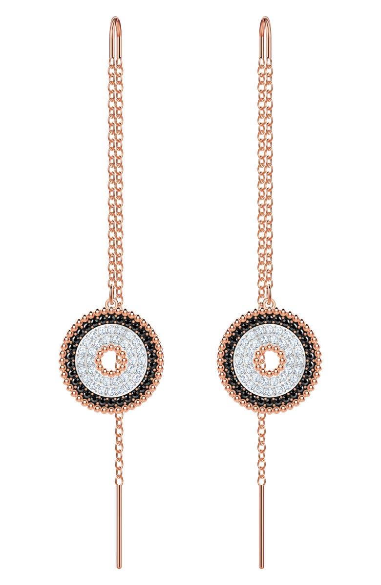 Swarovski Lollypop Threader Earrings