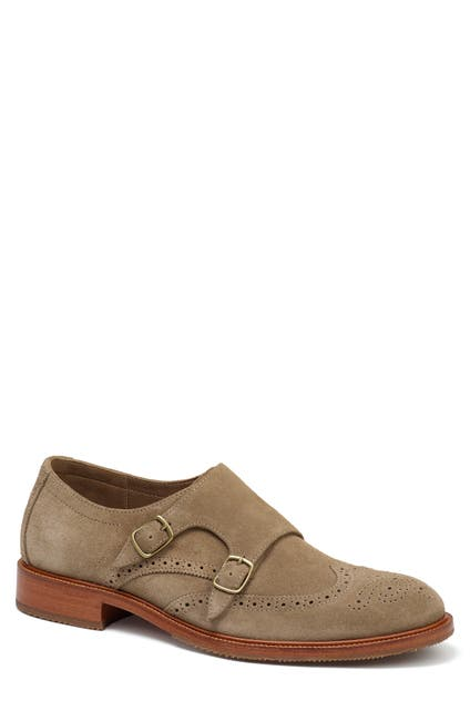 Image of Trask Leland Double Monk Strap Shoe